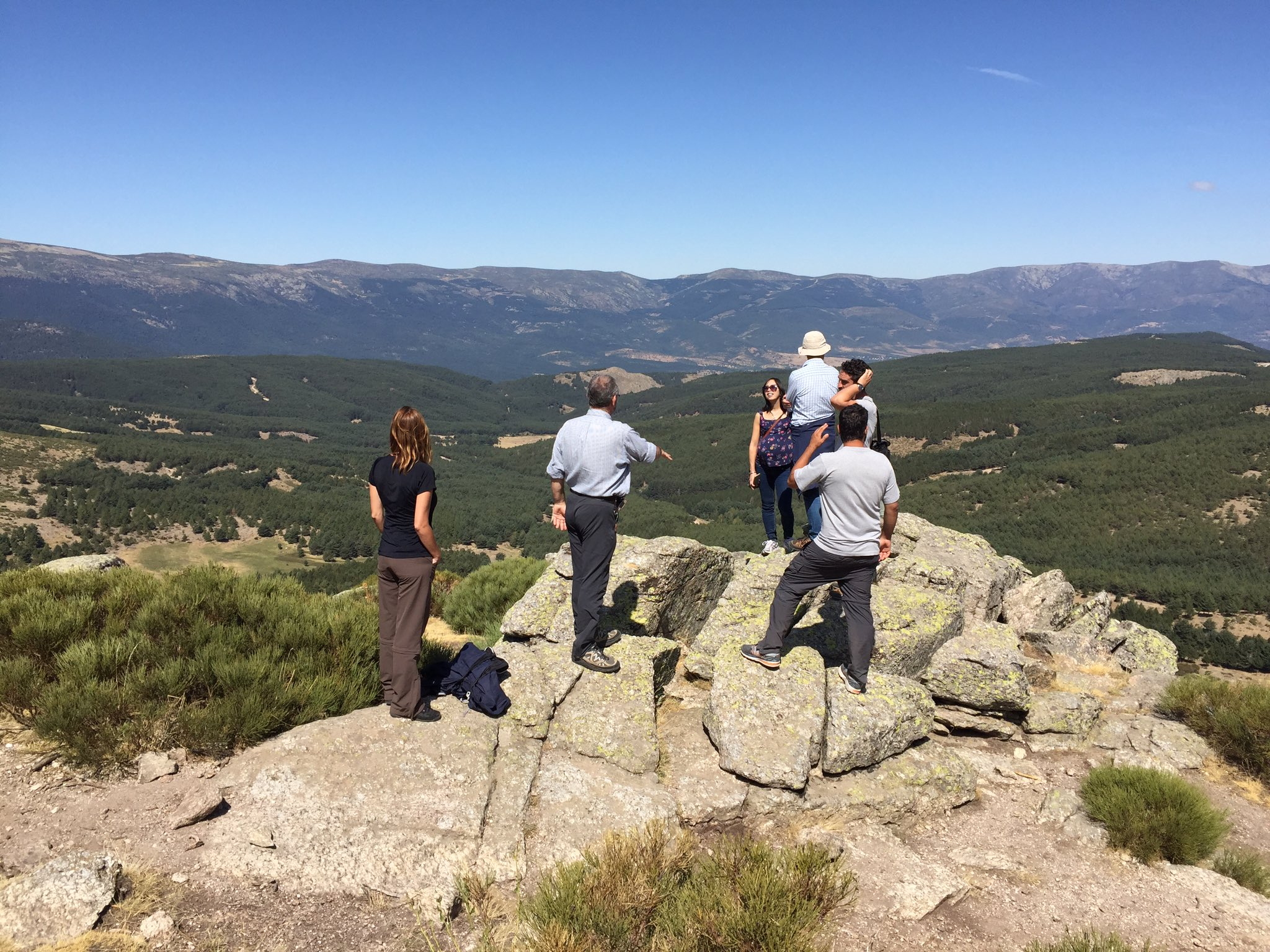 Initial findings from the Sierra de Guadarrama National Park