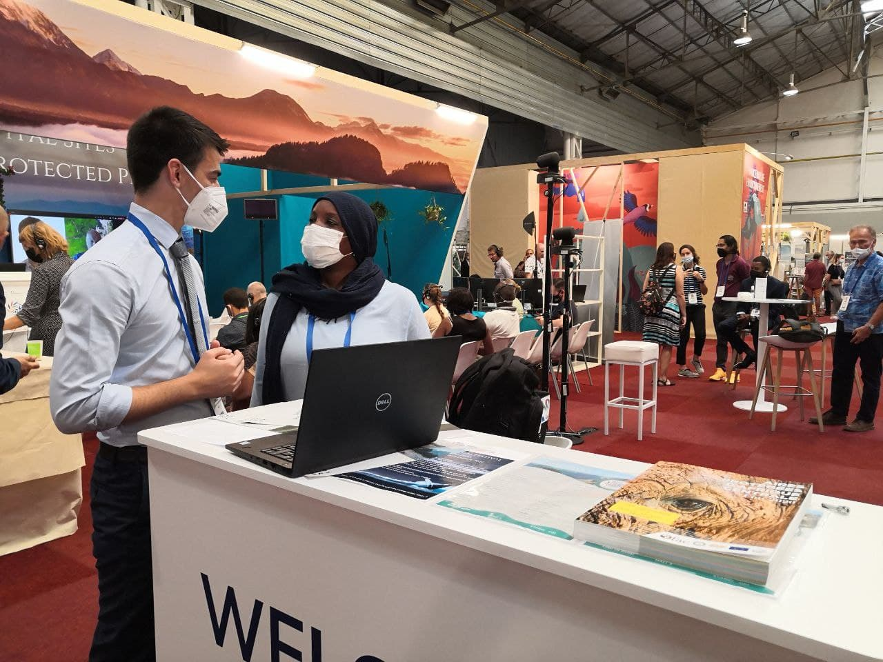 Sharing Envision research at the IUCN World Conservation Congress